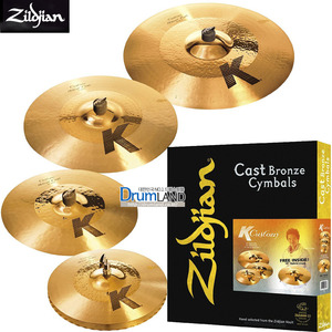 Zildjian K Custom Hybrid Performance Set / K1250(k 커스텀 세트)